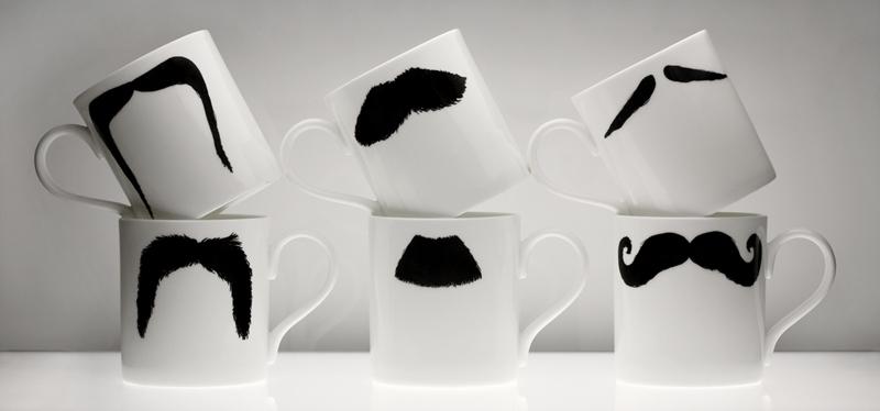 Wąsy przy herbatce