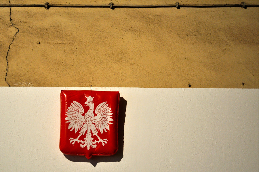 Godło Polski od Poor Design. fot. Wojciech Trzcionka