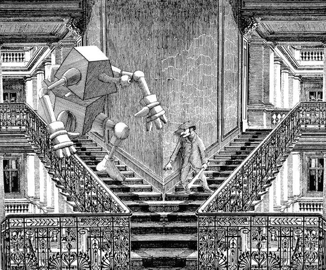 Graficzna fantastyka Mroza i Lema w Gdyni