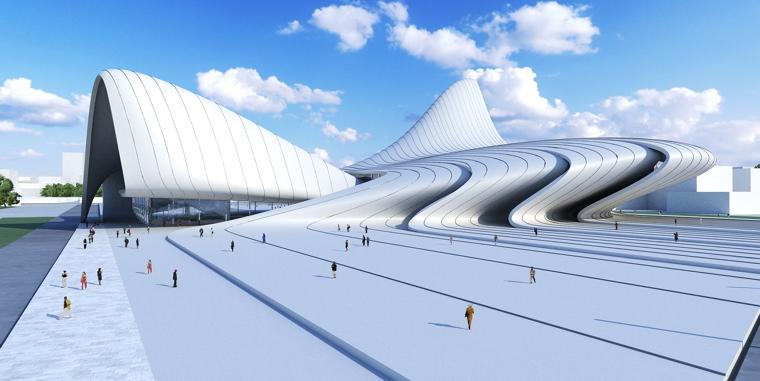 Baku pięknieje dzięki architektom