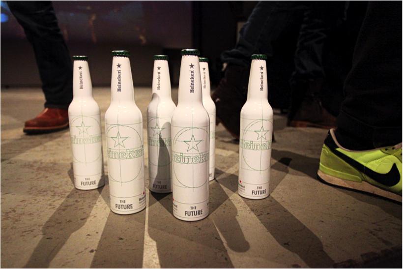 Stwórz butelkę przyszłości Heinekena!