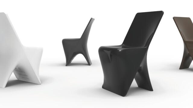 Amorficzne krzesło Rashida
