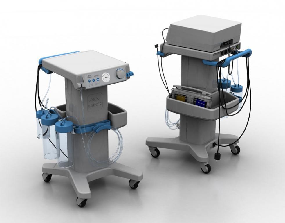 Ssak chirurgiczny Combo to projekt Pauliny Kordos oraz Dawida Żebrowskiego, powstały w firmie Perfekt Sobierajski i jest urządzeniem stosowanym w medycynie. fot. Materiały prasowe