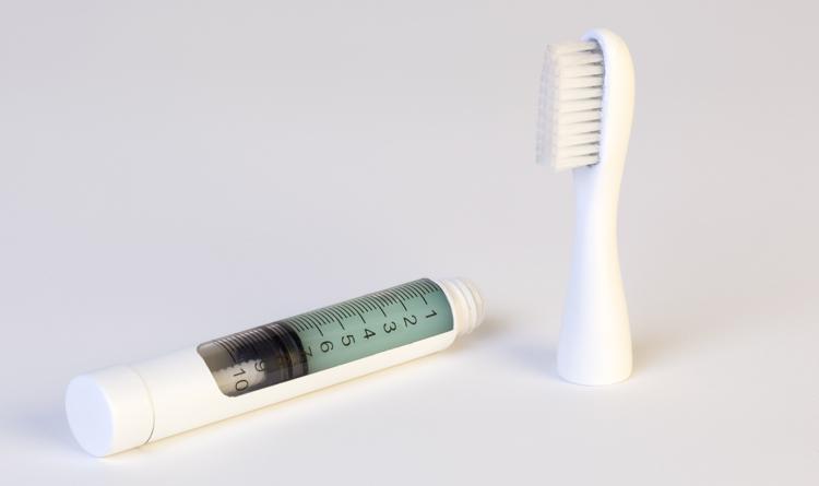 W dozowniku można jednorazowo umieścić ok. 100 gramów pasty. fot. ARC
