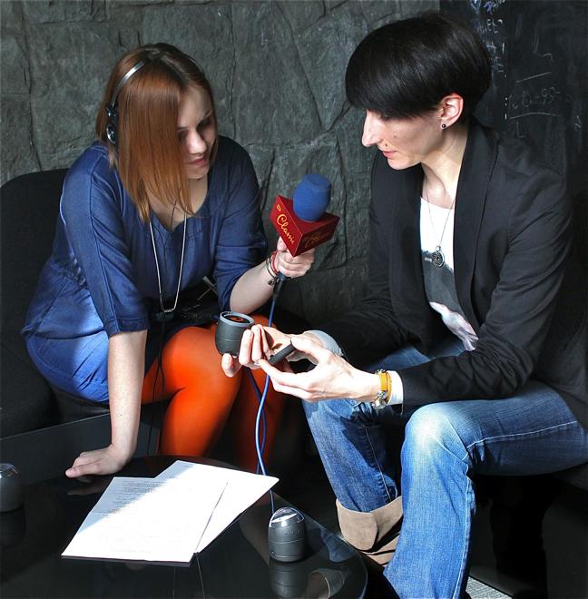 Magdalena Jackowska, dziennikarka RMF Classic oraz Ewa Trzcionka, wydawca designalive.pl i Modico R45. fot. Katarzyna Nowak