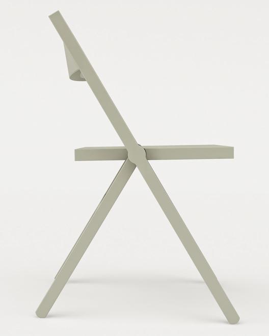 Krzesło dla marki Alessi stworzył David Chipperfield. fot. Materiały prasowe