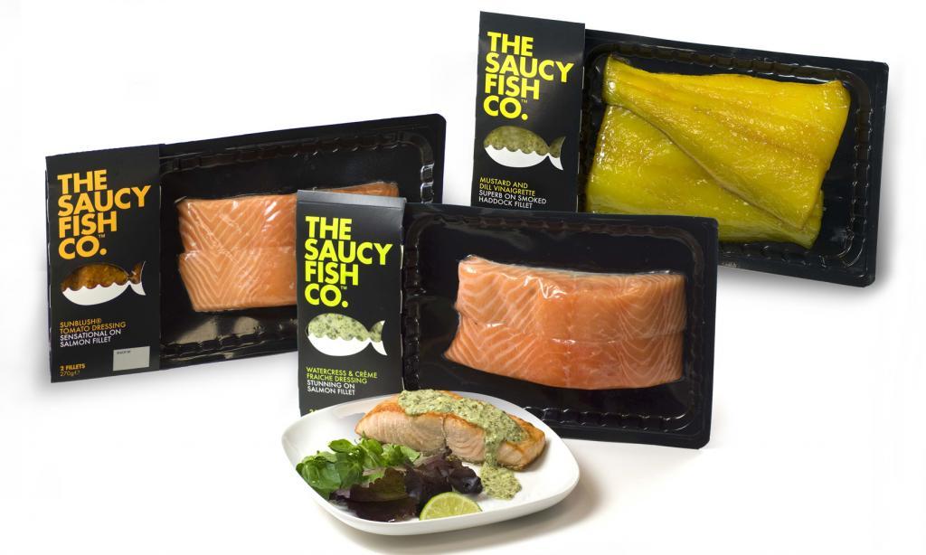 Jeden z nagrodzonych produktów w Pentawards 2010: The Saucy Fish Company, Elmwood, Wielka Brytania. fot. MATERIAŁY PRASOWE