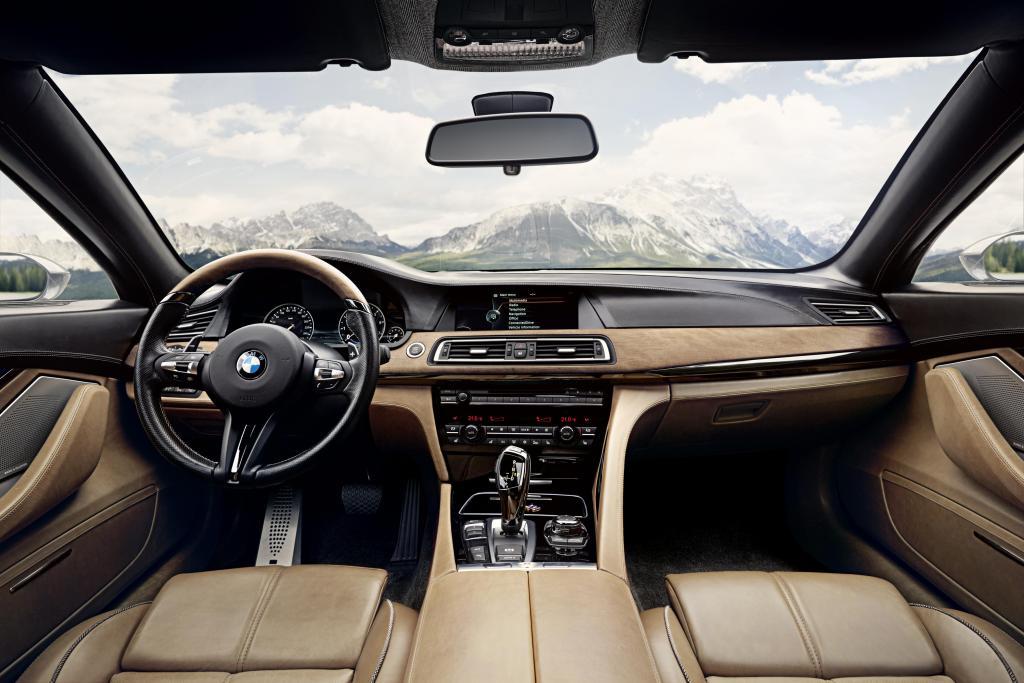 BMW Pininfarina Gran Lusso Coupé jest typowym BMW, ale ma w sobie również pierwiastek wyrafinowanego stylu Pininfariny. fot. Materiały prasowe
