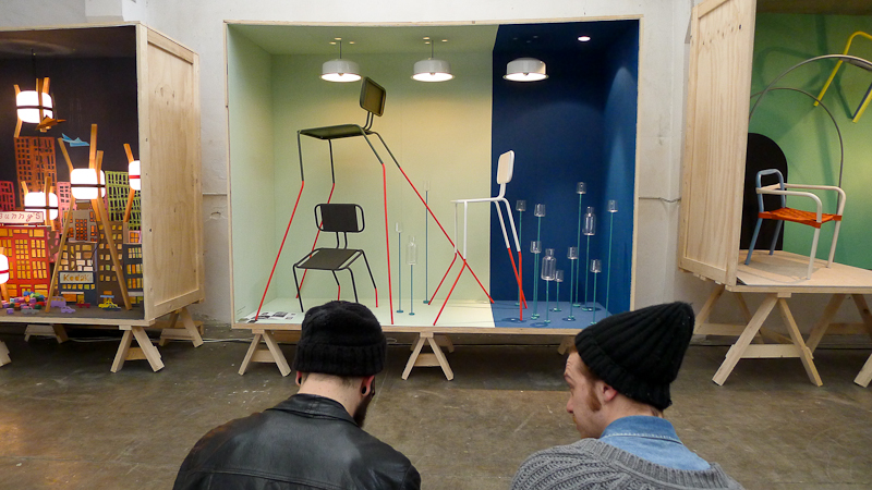 Ventura Lambrate. Jedna z 90 wystaw, niemiecka ekspozycja przygotowana przez Wernera Aisslingera. fot. Wojciech Trzcionka