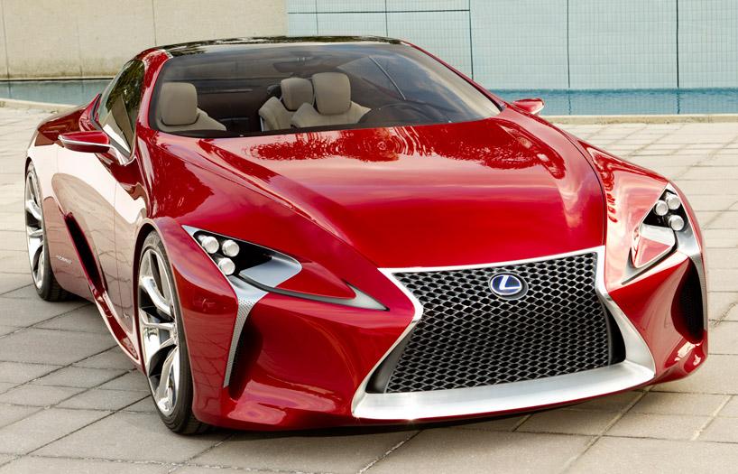 Najnowszy koncept Lexusa LF-LC coupe. fot. Materiały prasowe