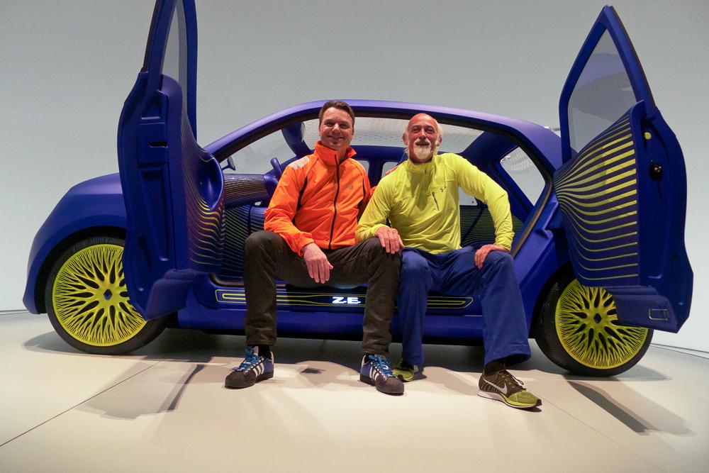 Jako jedyna redakcja z Polski wzięliśmy udział w premierze koncepcyjnego projektu samochodu Rossa Lovegrove' a dla Renault.