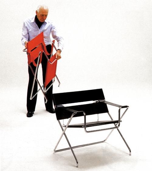 Obecnie fotel D4 produkuje firma Tecta z Niemiec. W  Polsce kosztuje od 4 tys. zł. fot. ARC