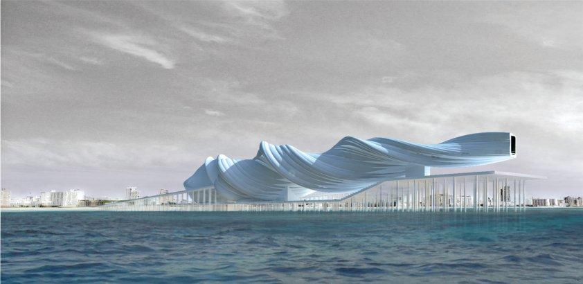 Architekt wierzy, że budynek do jego projektu powstanie w przyszłości. fot. ARC