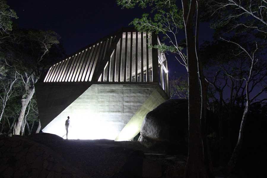 Przestrzeń kaplicy to 120 metrów kwadratowych. fot. ARC