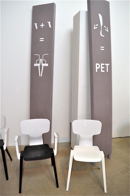 Premierę krzesła miały na iSaloni. fot. Ewa Trzcionka