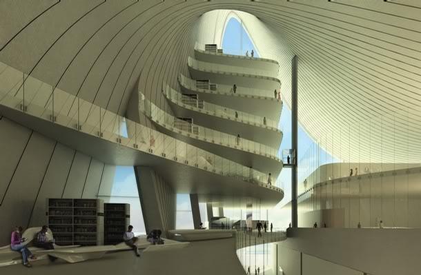 Do współpracy zaproszono studio Zahy Hadid, jednej z najprężniejszych pracowni architektonicznych. fot. ARC