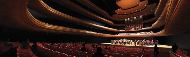 Wielka Sala Koncertowa (na 1735 miejsc) będzie symbolicznym i funkcjonalnym sercem projektu. fot. Konior Studio