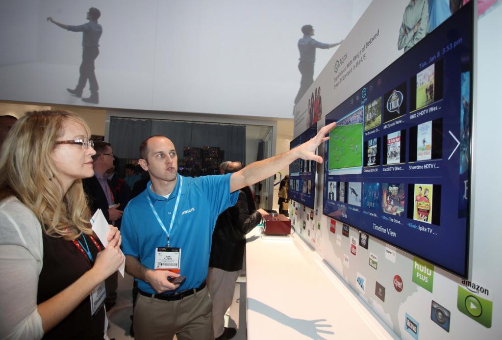 Jedną z nowości Samsung Electronics jest Smart Hub. fot. Materiały prasowe