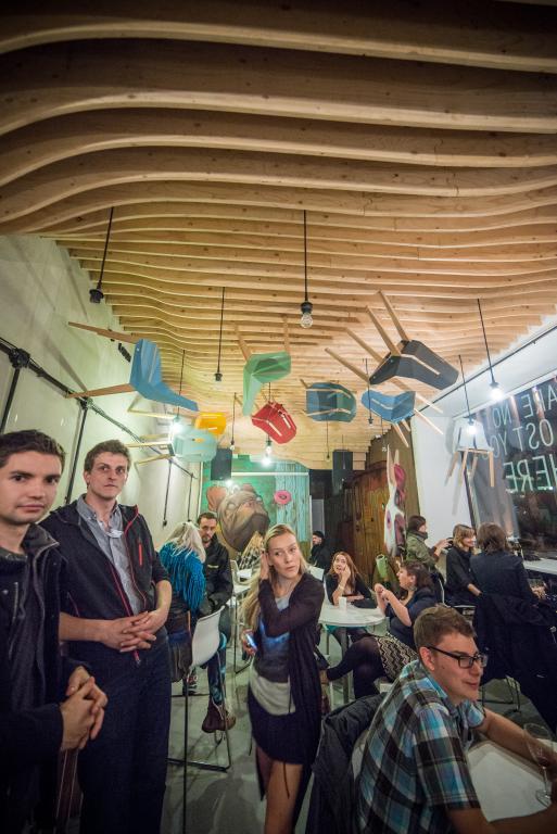 Wydarzenia festiwalowe zagościły w ponad 20 miejskich przestrzeniach. Grupa Tabanda premierowo zaprezentowała siedzisko Diago w Zmianie Tematu. fot. Materiały prasowe
