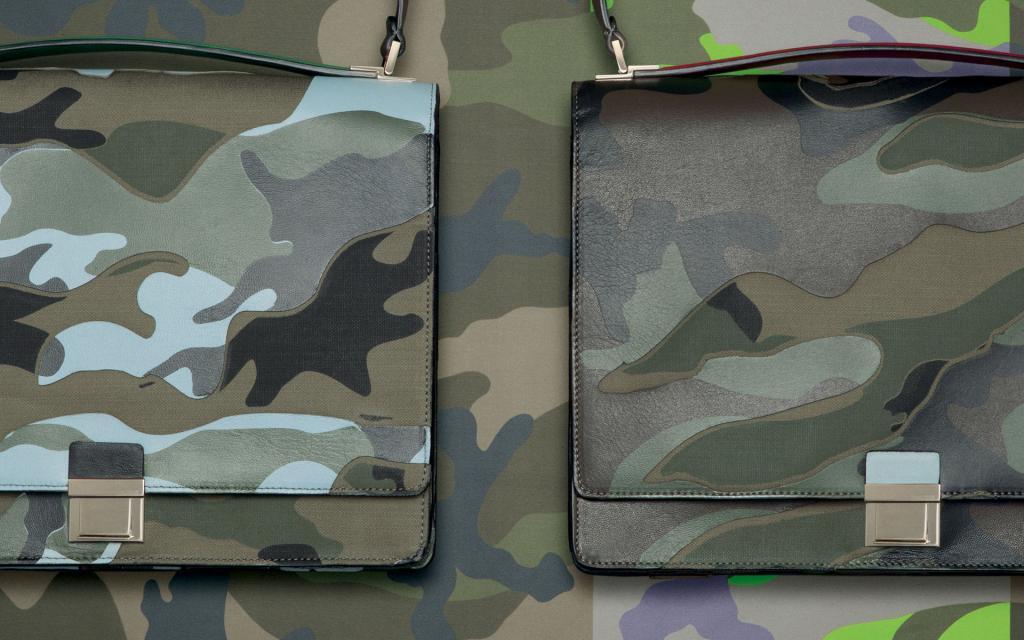 W  Camouflage Collection dominują militarne kolory, jak zieleń, czerń czy szarość. fot. Materiały prasowe