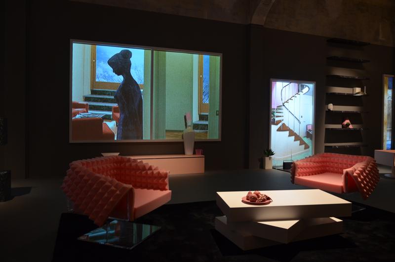 Prezentacja miała miejsce w budynku Prady. fot. Aleksandra Tanton, My Italian Lookbook