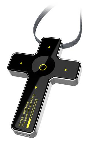 Saint B., odtwarzacz mp3, projekt konceptualny, Man Works Design, Rosja, 2006. fot. ARC