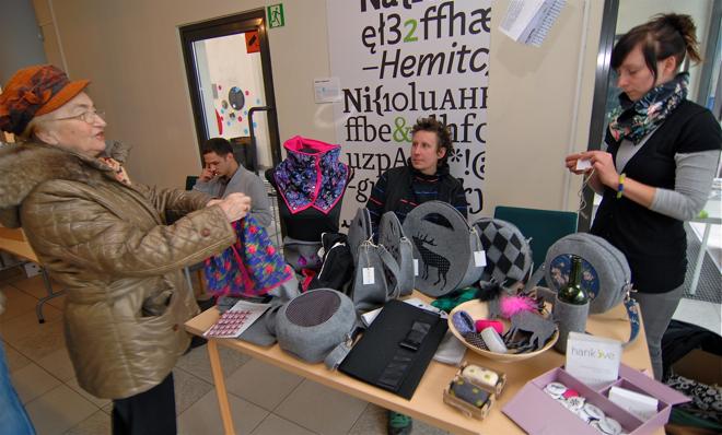 Bazar Designu odbył się na Zamku Cieszyn po raz pierwszy. fot. Wojciech Trzcionka