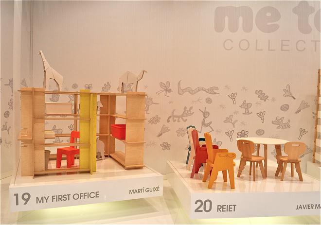 My firsth office z dziecięcej kolekcji Me Too marki Magis. fot. Ewa Trzcionka