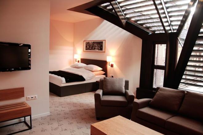Apartamenty Hotelu The Granary oferują możliwość wyjątkowo luksusowego pobytu.