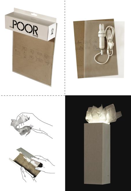 Własnoręcznie można też składać jedną z zaprojektowanych przez Bartosza Muchę lamp. fot. Materiały prasowe