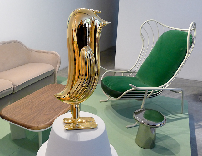Wystawa hiszpańskiego projektanta Jaime Hayona w Ventura Lambrate. fot. Wojciech Trzcionka