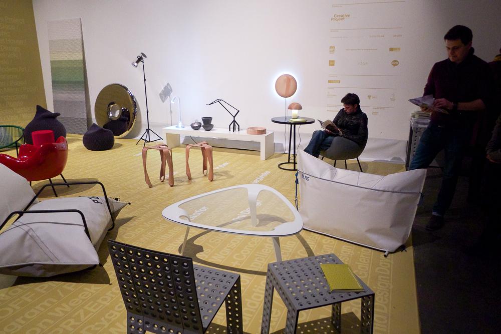 Wystawa Fundacji Creative Project, gdzie zaprezentowano najlepsze polskie projekty.