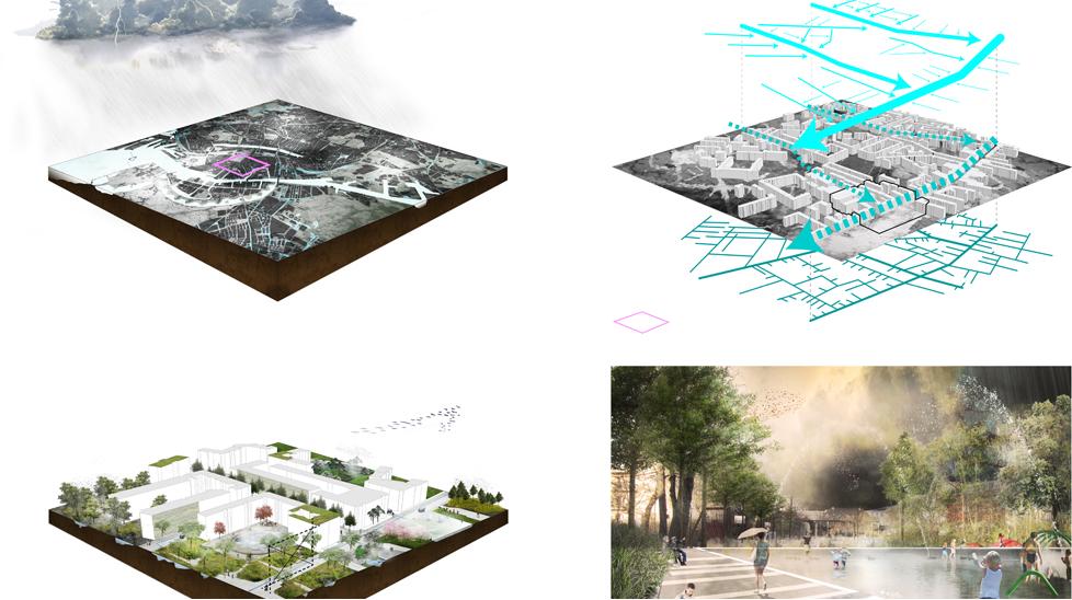 Copenhagen Climate Adaptation Plan (kategoria Wspólnota) - system reagujący na zmiany klimatyczne. fot. Materiały prasowe