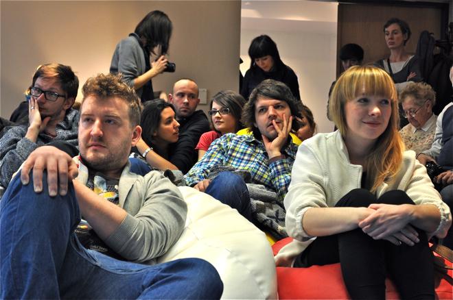 O roli Zamku wielokrotnie mówili młodzi polscy projektanci, którzy gościli na urodzinach. fot. Wojciech Trzcionka