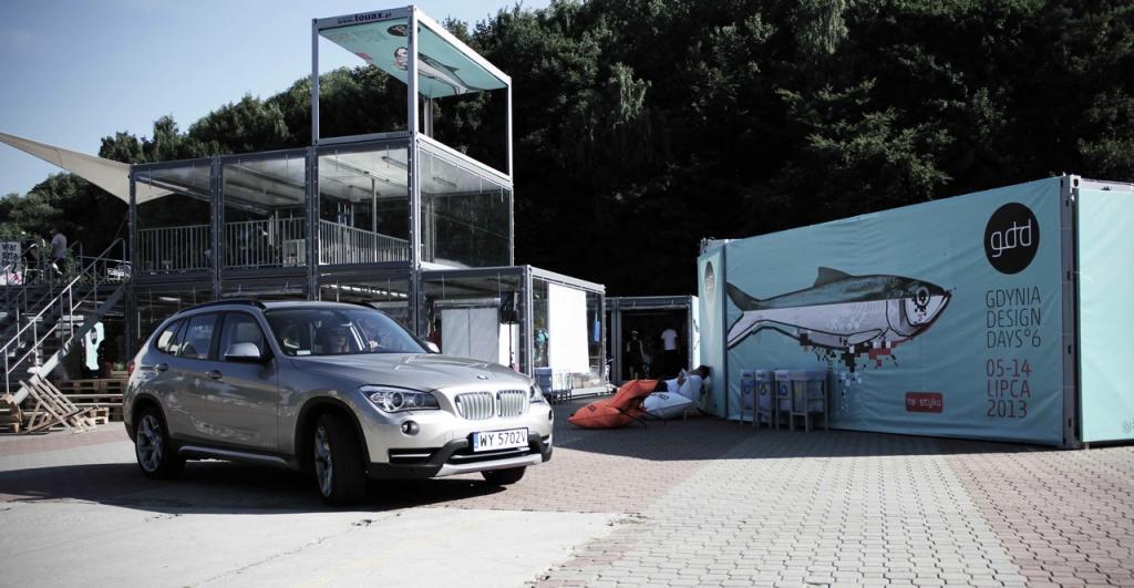 Na Gdynia Design Days przywiozło nas BMW. fot. Eliza Ziemińska