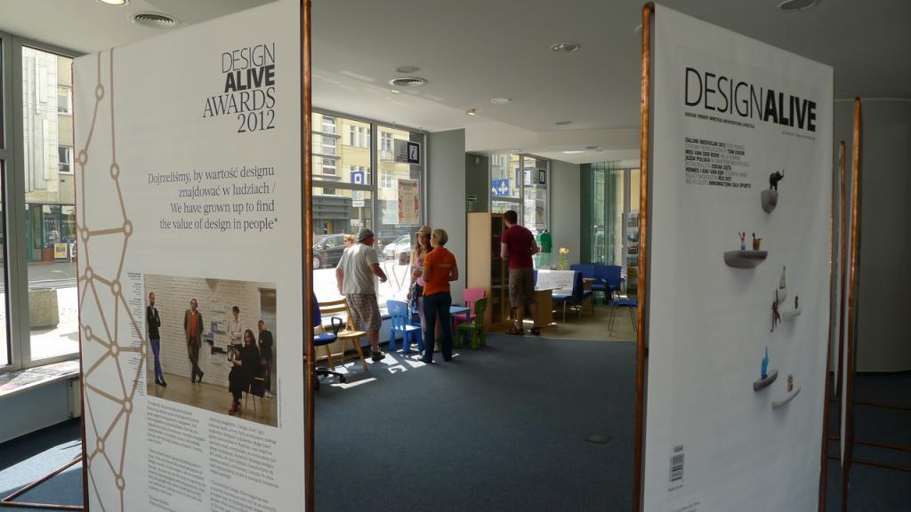 Podczas GDD oglądać można wystawę Design Alive Awards 2012. Zobaczyć ją można w Miejskiej Informacji Turystycznej. fot. Wojciech Trzcionka