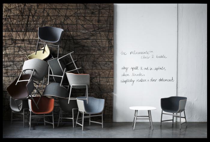 Fotel swoim kształtem przypomina muszlę. fot. Materiały prasowe