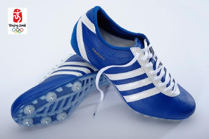 Buty zaprojektowane dla lekkoaltety Tysona Gaya na Olimpiadę w Pekinie w 2008 roku. fot. Materiały prasowe
