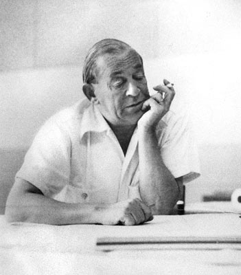 Hugo Alvar Henrik Aalto (ur. 3 lutego 1898 w Kuortane, zm. 11 maja 1976 w Helsinkach) – fiński modernistyczny architekt i projektant form przemysłowych. fot. ARC
