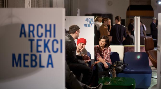 Otwarciu wystawy w Metaformie towarzyszyło spotkanie i dyskusja z udziałem polskich projektantów. fot. Piotr Droździk
