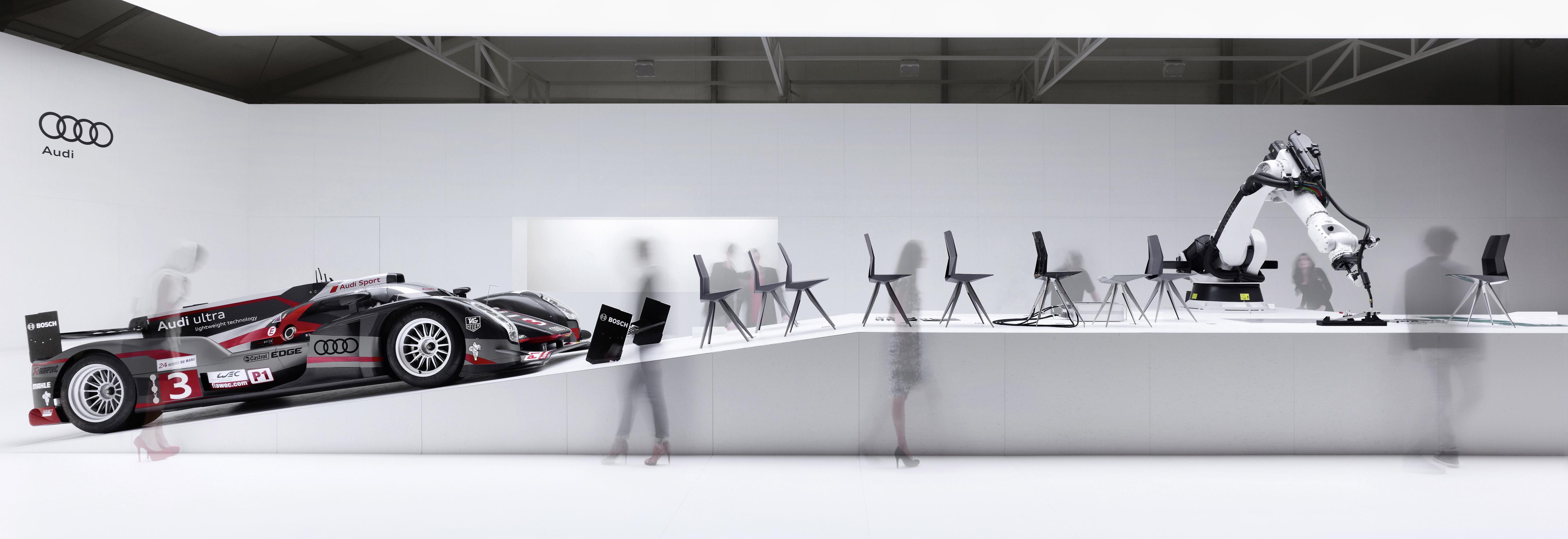 Ultralekkie krzesło Audi (wideo)