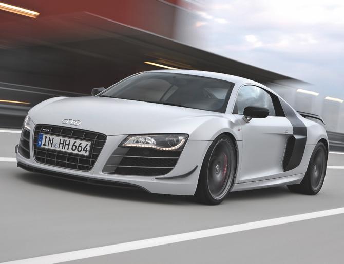 Audi R8 GT: Sportowy samochód roku