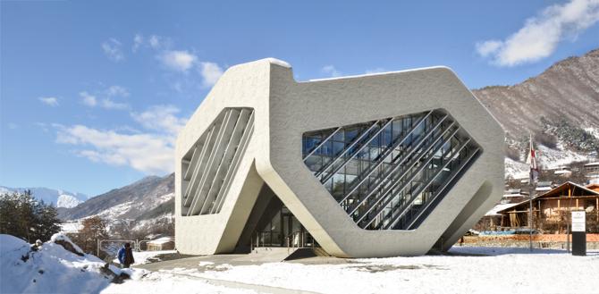 Dom Sprawiedliwości został wyposażony w duże i przestronne okna. fot. Materiały prasowe