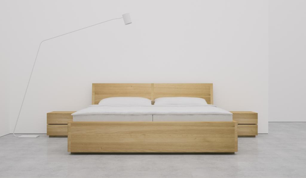 Łóżko Bondi 30, wykonane z litego drewna. fot. Materiały prasowe