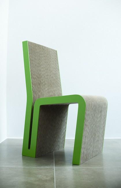 Krzesło Simple Tektura 2.