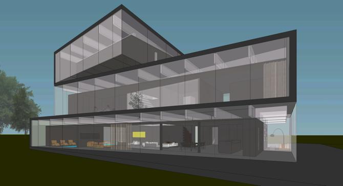 Obiekt ma 700 metrów kwadratowych powierzchni użytkowej. fot. ARC