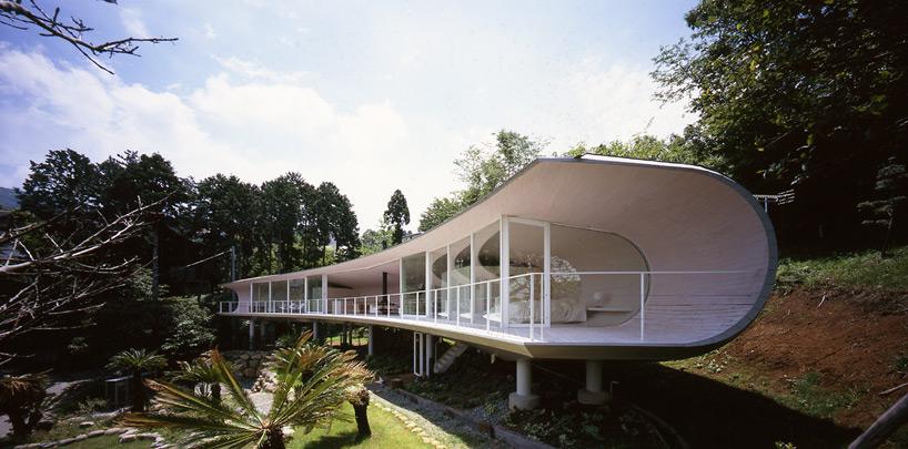 Półksiężycowy japoński dom