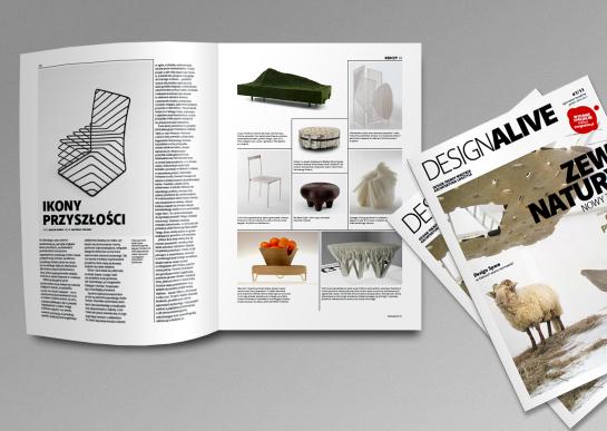 Magazyn ukazał się po raz pierwszy. Liczy 72 strony. fot. Łukasz Potocki