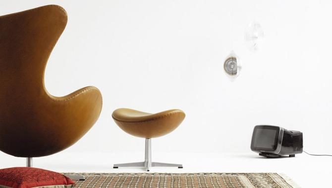 Za oryginalny Egg Chair zapłacimy ok. 7 tys. dolarów. fot. Materiały prasowe