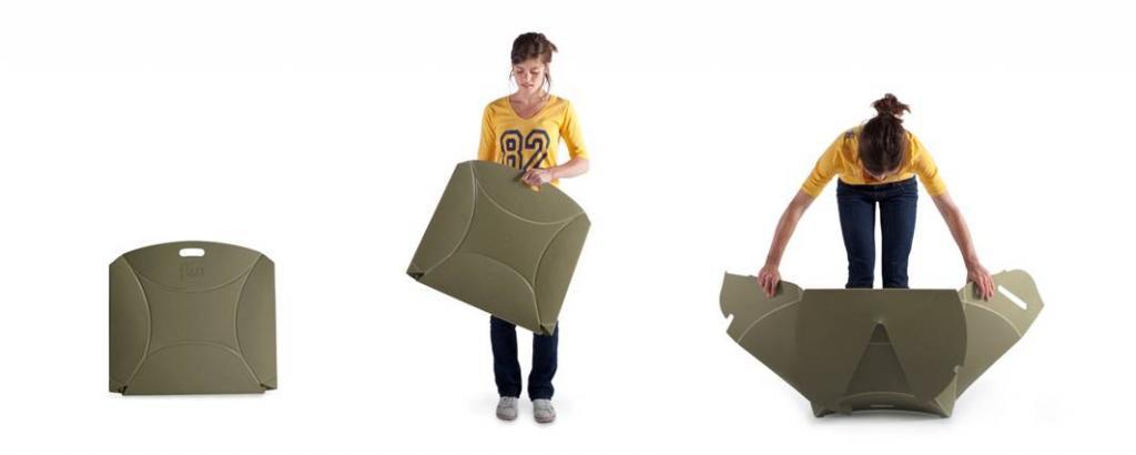 Dzięki łatwości składania krzesła znajdują bardzo wszechstronne zastosowanie. fot. Materiały prasowe